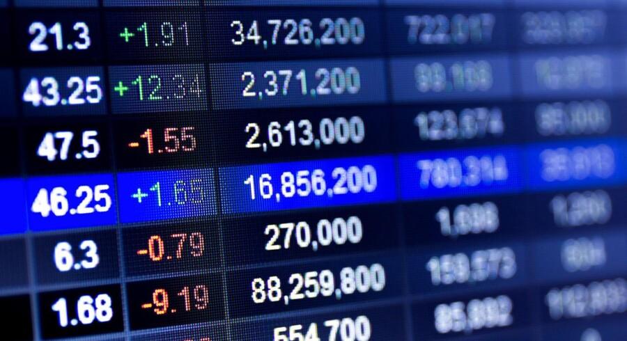 Stockfoto: Det danske aktiemarked åbner i grønt fredag morgen trods det noget uklare valgresultat i Storbritannien. Valget påvirker ikke ret mange danske aktier direkte - men medicoselskabet Coloplast kan dog blive undtagelsen.