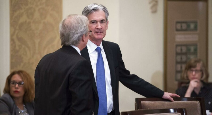 Arkivfoto: FED-guvernør Jerome Powell.
