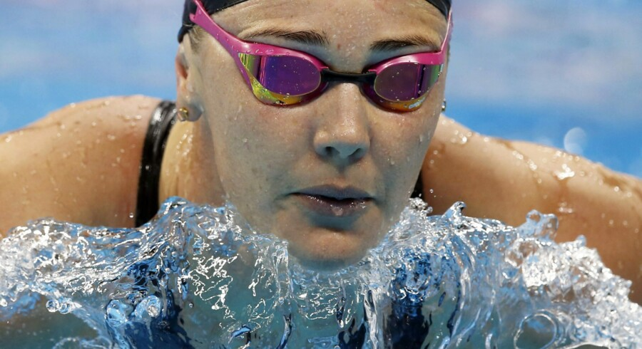 Jeanette Ottesen og Pernille Blume skal i aktion igen natten til søndag i finalen i 4 x 100 meter medley-holdkap. Scanpix/Patrick B. Kraemer
