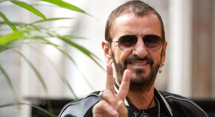 Eks-beatlen Ringo Starr er aktuel med sit nye album 'Give More Love'.