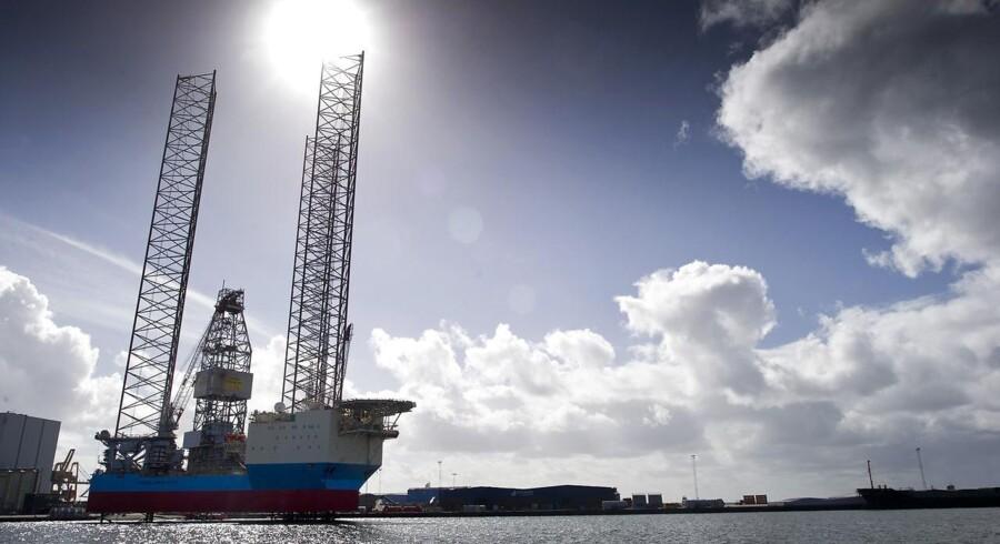 Maersk Drilling, der er A.P. Møller-Mærsk-gruppens datterselskab på borerigmarkedet, har modtaget en tidlig opsigelse på en kontakt i Angola. Arkivfoto.
