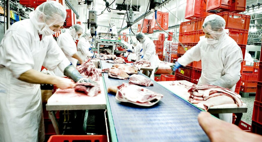 Den danske slagterikoncern Danish Crown melder om en stigning i koncernomsætningen på en milliard kroner til 29,2 milliarder i første halvår.