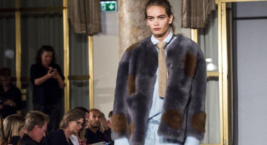 Copenhagen Fashion Week SS/18. Anne Vest Show på Hotel D'angleterre, København.