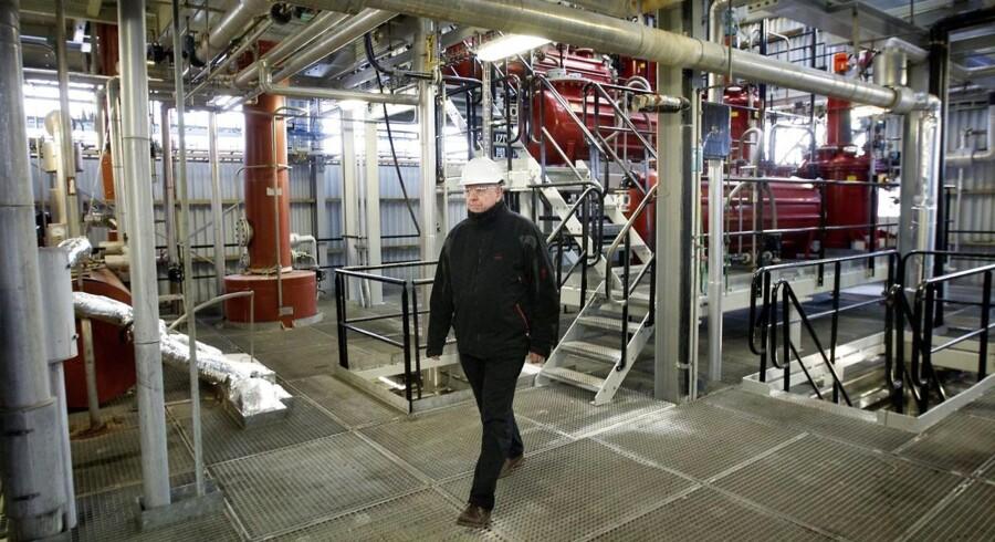 Produktionschef på Cheminova Torben Andreasen har 40års jubilæum.