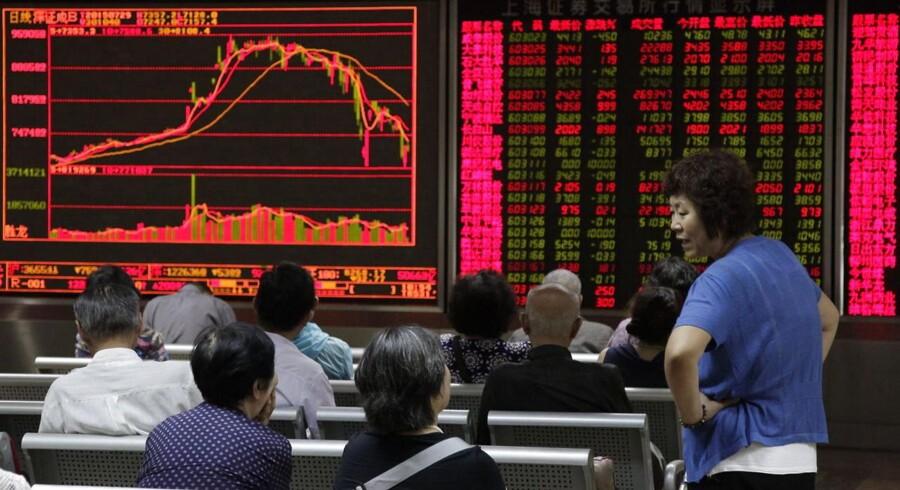 Aktiemarkedet i Hongkong ikke så højt prisfastsat, vurderer Danske Invest, og aktierne handler generelt set til en markant lavere P/E-værdi, end tilfældet er i Kina.