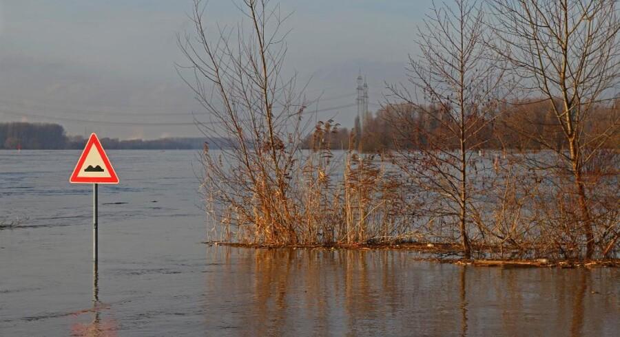 En af de mere regnfyldte vintere med oversvømmelse.