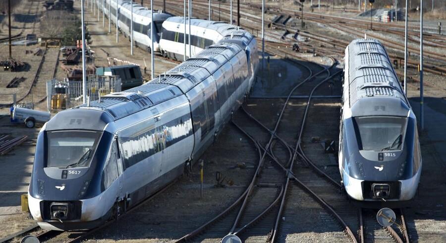 Regeringens nye togaftale forudsætter blandt andet, at IC4-togene kommer til at køre som oprindeligt planlagt, og at de også kommer til at køre sammenkoblede, hvilket de endnu ikke er begyndt at gøre.