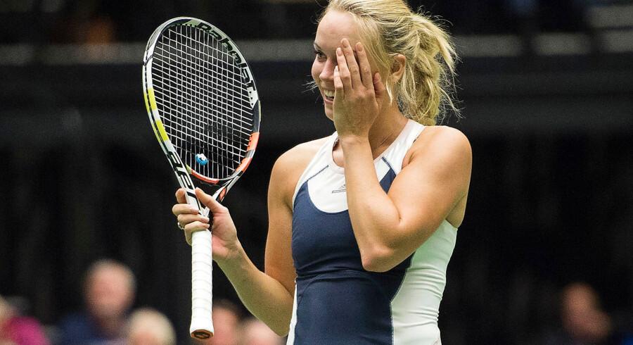 Caroline Wozniacki har ikke været lavere placeret på verdensranglisten siden august 2008, hvor hun som 18-årig nærmede sig verdenstoppen med hastige skridt.