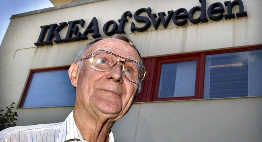Ikea-grundlægger Ingvar Kamprad er ikke længere en del af dagligdagen i Ikea, men fungerer stadig som rådgiver for ledelsen.