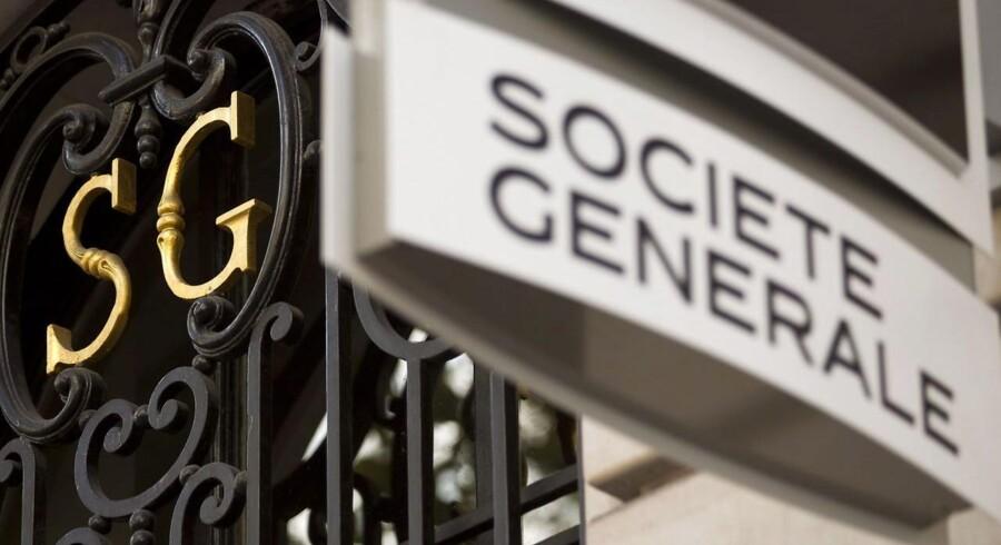 Societe Generale har været hårdt ramt af vækststilstanden i Frankrig og stridighederne i Rusland, hvor banken har stor aktivitet, oplyser banken ifølge Bloomberg News.