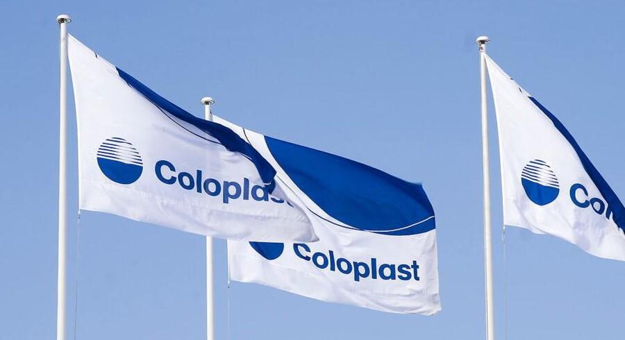 Coloplast fremlagde tirsdag middag sine regnskabstal for selskabets første kvartal.