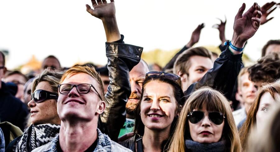 Publikum på Northside Festival 2015.