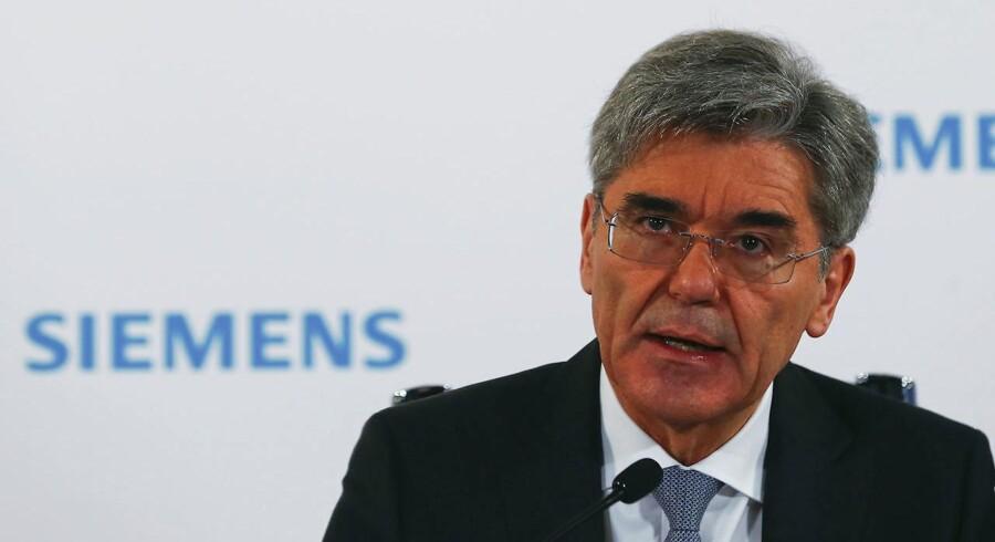 Siemens administrerende direktør Joe Kaeser.