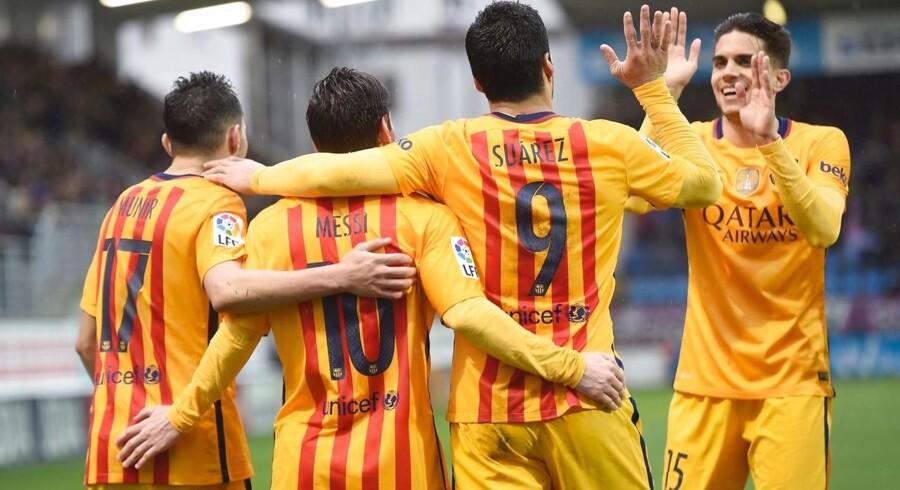 Hjemmebanen for blandt andet Messi og Suarez bliver nu endnu større.