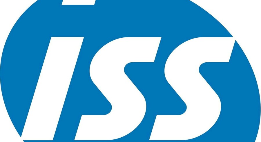 ISS logo.