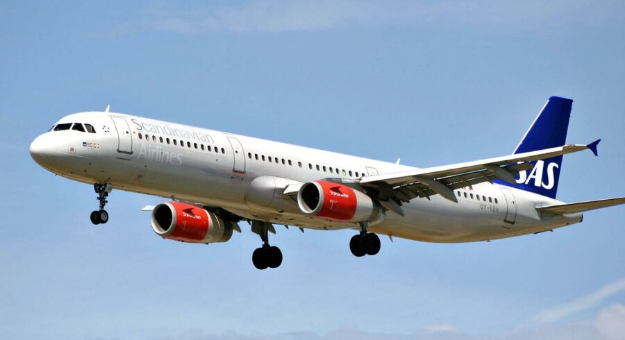 SAS indfører en ekstra afgang mellem København og New York. Arkivfoto.