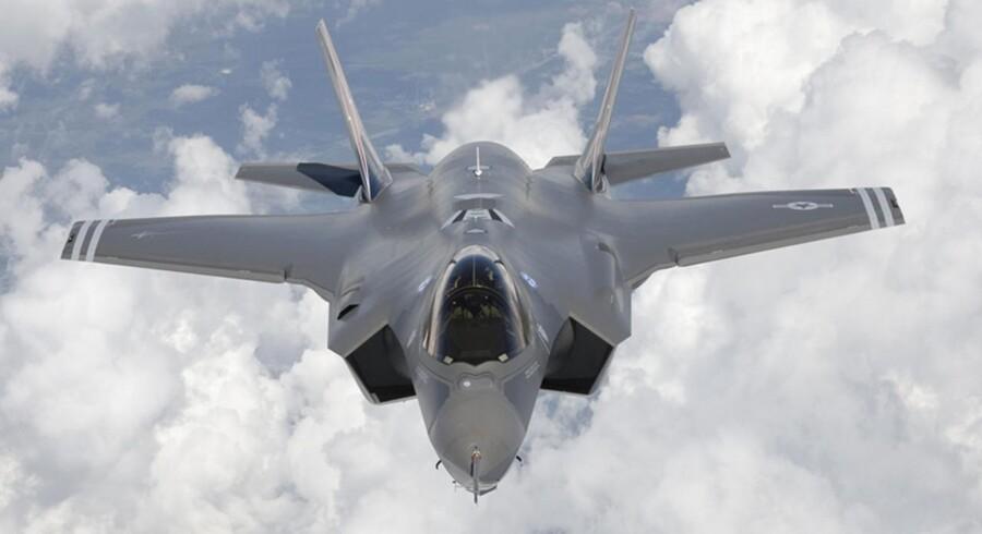 F-35 Lightning II, også kendt som Joint Strike Fighter.