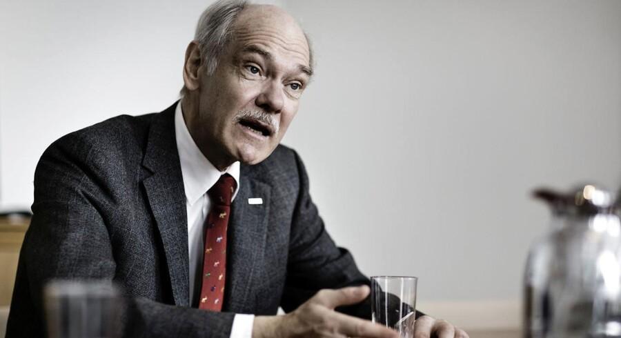 Jørgen Huno Rasmussen, bestyrelsesformand i TryghedsGruppen og Tryg Forsikring, fik på et hemmeligt møde med Erhvervsstyrelsen forhandlet sig frem til en løsning, så opsplitningen af TryghedsGruppen kan gennemføres.