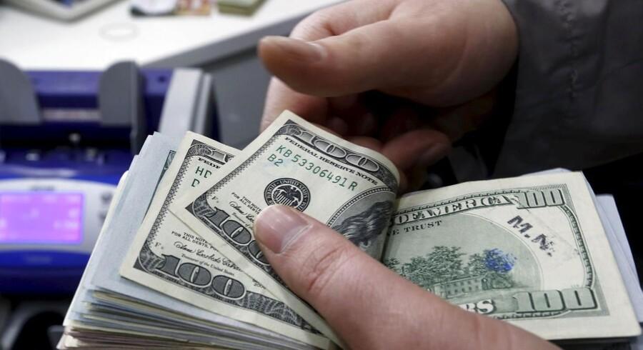 Den amerikanske dollar har haft fart på over det seneste år, hvor den er steget med omkring 25 pct. i forhold til den danske krone.