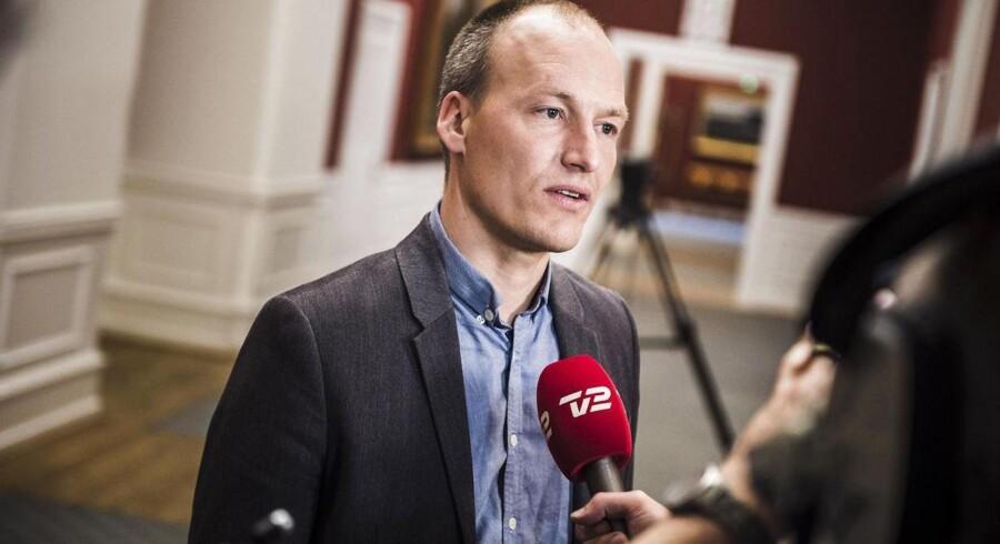 Enhedslistens finansordfører Pelle Dragsted.