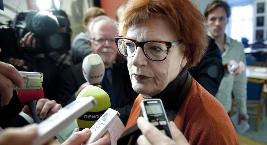 Arkivfoto. Tidligere indenrigs- og landbrugsminister Britta Schall Holberg (V).