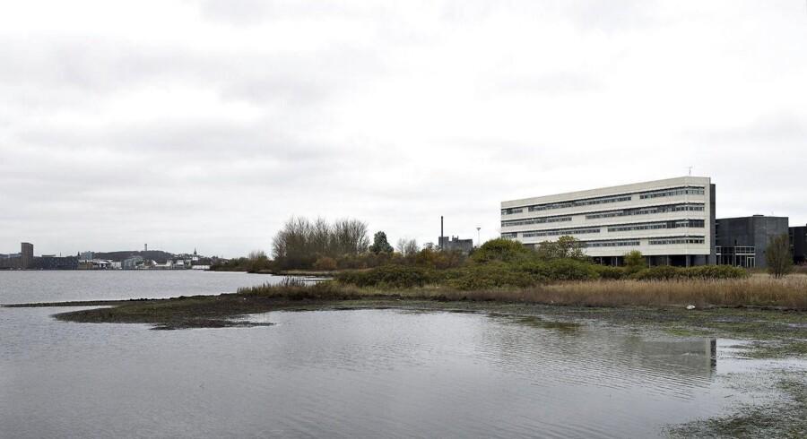 OW Bunkers tidligere hovedkontor i Nørresundby ved Aalborg. Foto: Henning Bagger.