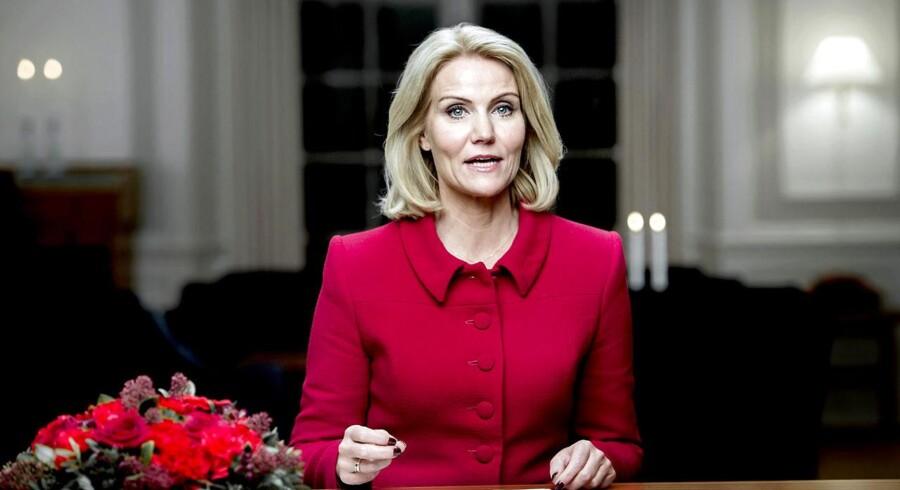 Statsminister Helle Thorning-Schmidt afsluttede sin nytårstale med de ord, der skulle gå hen og blive et nyt valgslogan »Det Danmark, du kender«.