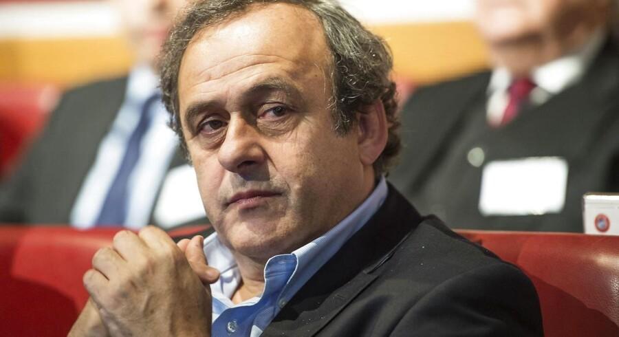 Michel Platini går efter at blive ny præsident for FIFA.