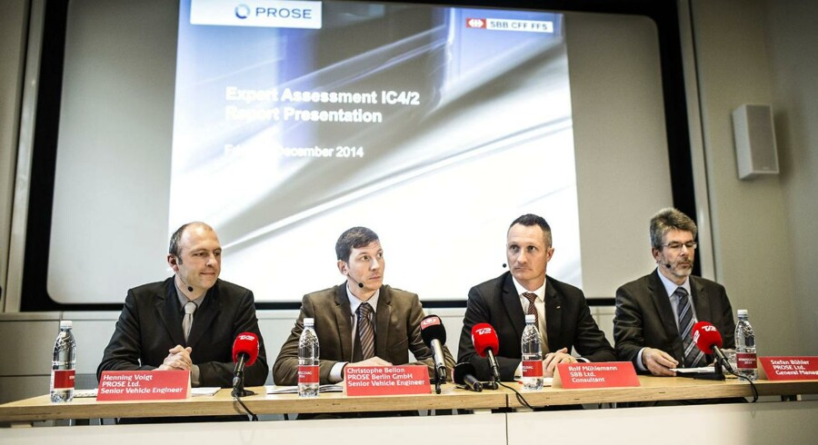 Prose leverer Expert Assesment Ic4/2 rapport præsenteres hos DSB