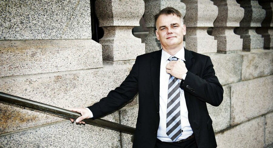 Dansk Folkepartis Christian Langballe (DF). Arkivfoto