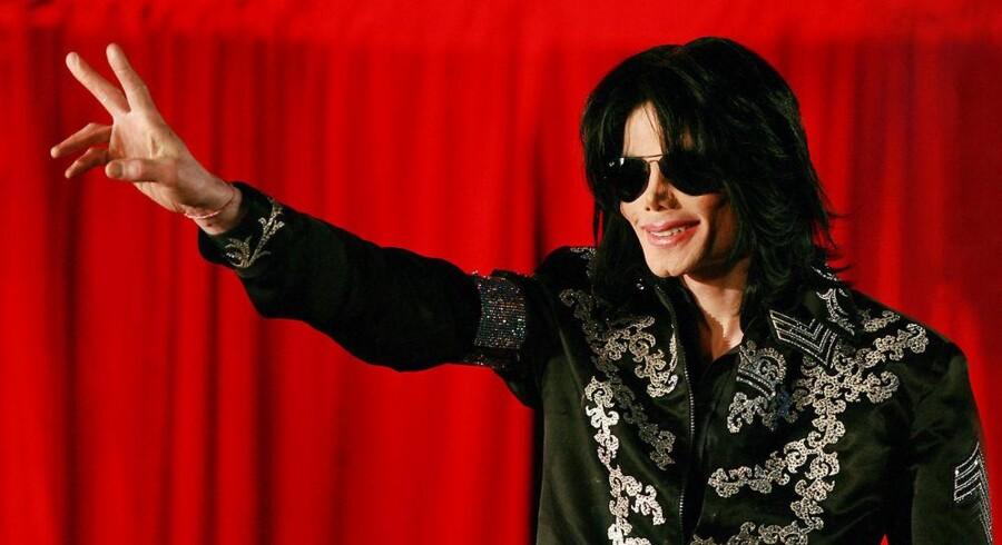 Uudgivne numre af den afdøde popstjerne Michael Jackson er blevet stjålet fra Sony. Arkivfoto: Carl de Souza, AFP/Scanpix