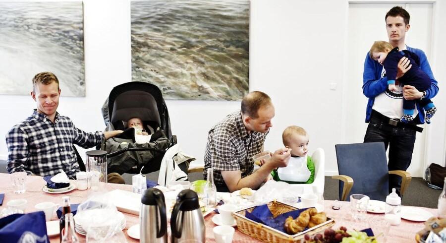 Danmark kæmper imod, men det bliver svært at stoppe vedtagelse af EU-direktiv om øremærket barsel til mænd.