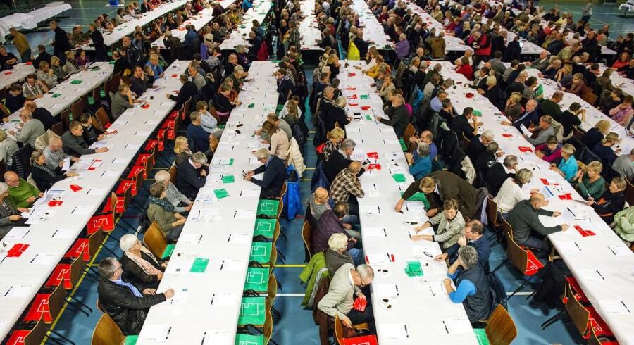 800 medlemmer i Lønmodtagernes Dyrtidsfond til møde om skatterabat på deres opsparing.
