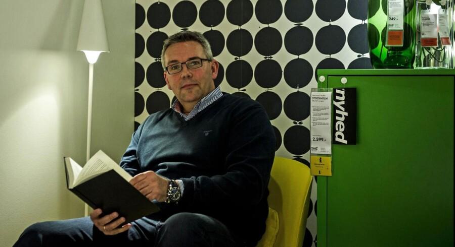 Dennis Balslev, administrerende direktør hos Ikea Danmark, skærper organisationen med billigere varer til kunderne.