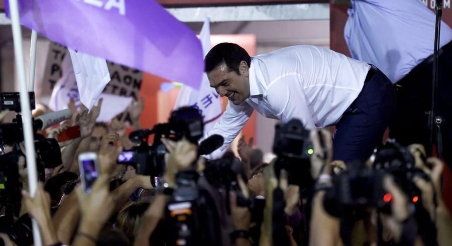 Det venstreorienterede parti Syriza med premierminister Alexis Tsipras i spidsen vandt valget søndag i Grækenland. Men den politiske dagsorden er lagt af aftalen med Troikaen.