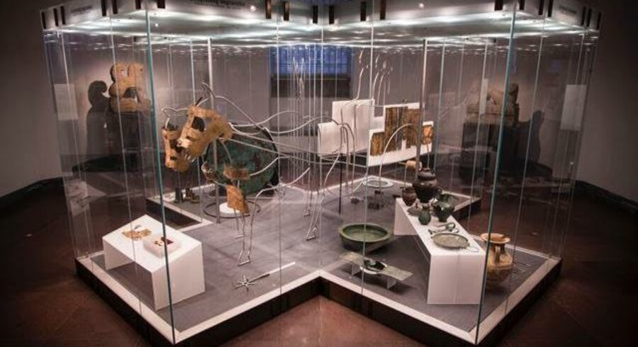 Flere af Glyptotekets etruskisk artefakter bliver nu leveret tilbage til Italien.
