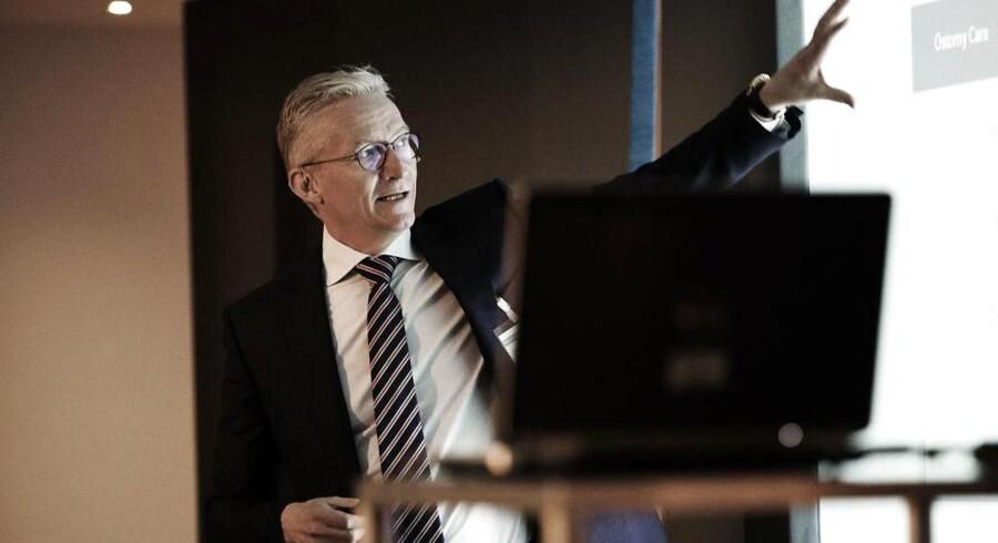Lars Rasmussen, administrerende direktør i Coloplast, kan for fjerde år i træk kalde sig for verdens mest vellidte medico-producent, hvis man spørger patienterne.