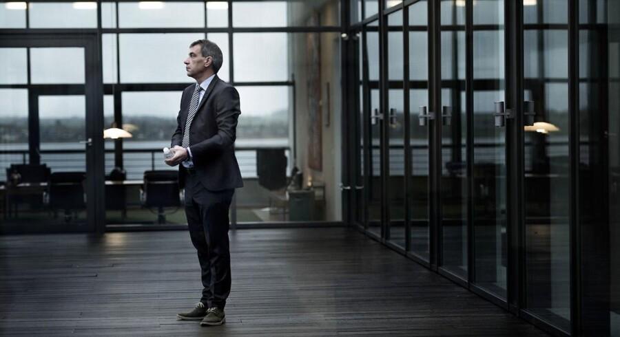 Lars Petersson, adm. direktør i Sparekassen Sjælland, vil bruge kundernes opsparingskroner til at tilbyde kunderne billige boliglån.