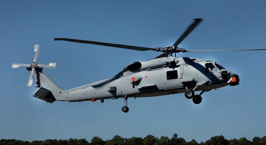 Efter at det danske forsvar for et par år siden indgik aftaler med den amerikanske flåde om at købe ni nye avancerede MH-60R Seahawk helikoptere (billedet), kan den danske forsvarsindustri med Terma i spidsen nu se frem til kontrakter for to til tre milliarder kr.