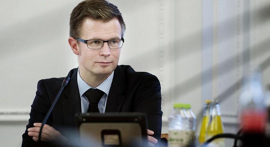 Skatteminister Benny Engelbrecht