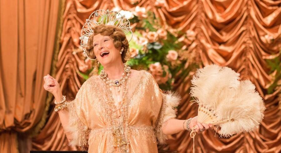 """""""Florence Foster Jenkins"""" er Stephen Frears nye komediedrama med sanguddannede Meryl Streep i hovedrollen."""
