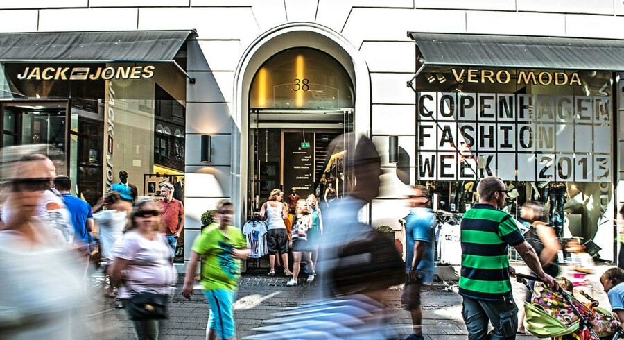 Bestseller - Jack & Jones og Vera Moda. Deres flagsskibsbutik på strøget i København