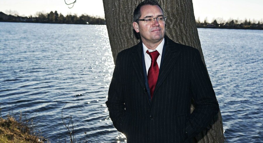 Nicolai Kærgaard, direktør i onlinetøjbutikken Smartguy. Der er vækst i det børsnoterede selskab, der lige nu forsøger at købe en svensk konkurrent.