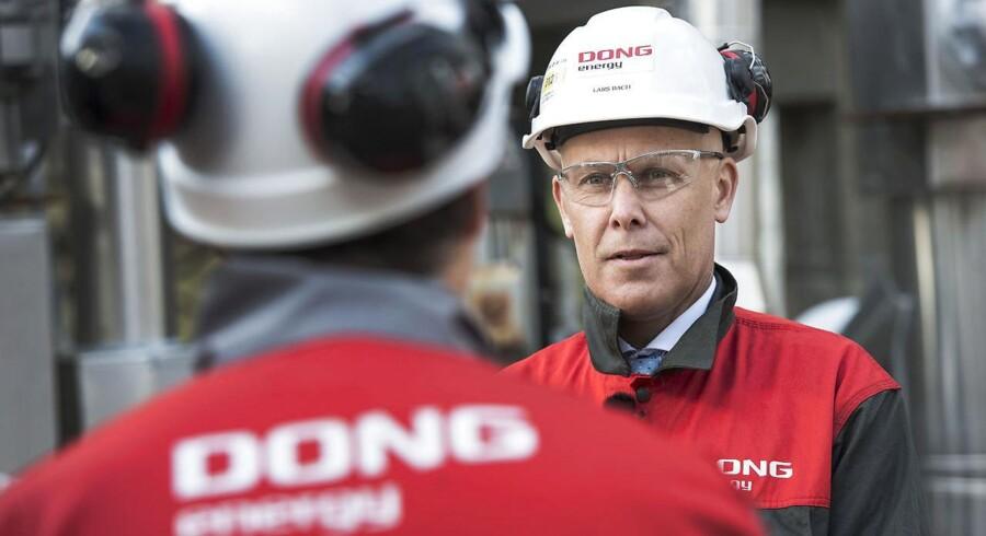 ARKIVFOTO: DONG Oil Pipe direktør Lars Bach.
