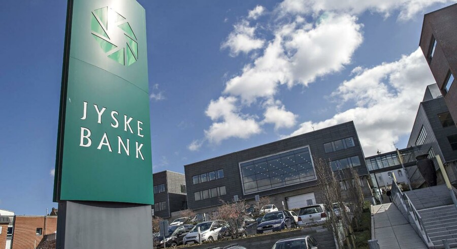 Jyske Bank - Her i hovedsædet i Silkeborg