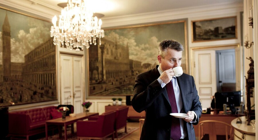 Erhvervs- og vækstminister Henrik Sass Larsen mener, det er muligt at gribe opsvinget med den vækstplan, regeringen kom med før sommerferien.