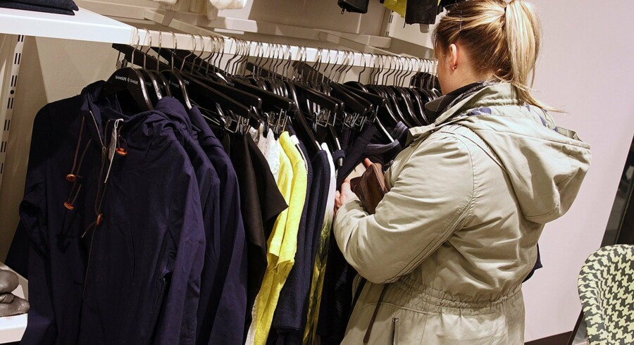 Generelt har den danske modebranche oplevet en tilbagegang de seneste tre år. Især de små spillere har haft det hårdt, mens de etablerede brand har haft lettere ved at få deres tøj ud i butikkerne. Foto: Martin Ballund