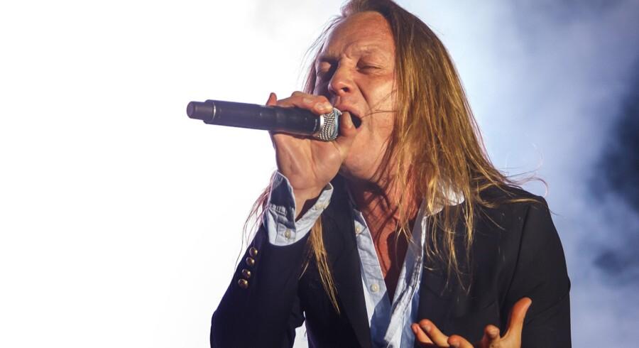 Jesper Binzer har været en kraftfuld frontfigur og sanger i det danske rockband D-A-D i mere end 30 år. Arkivfoto: Torben Christensen