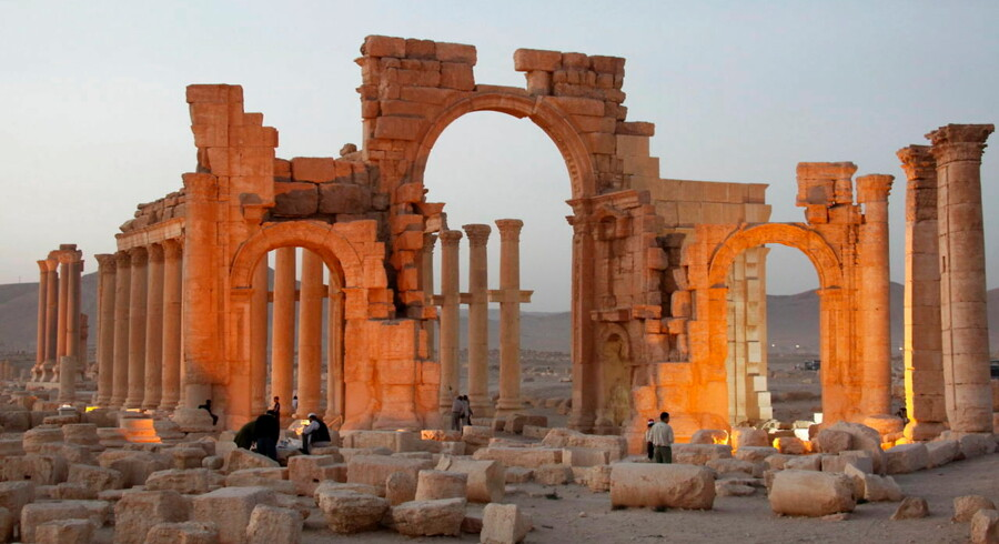 epa04963902 (FILE) A file picture dated 12 November 2010 shows a general view of the historic site of the ancient city of Palmyra, central Syria. According to media reports on 05 October 2015, militants of the so-called Islamic State (ISIS or IS) have blown up Palmyra's ancient Arch of Triumph. Few months ago, the jihadist group blew up the 2, 000-year-old Temple of Bel, the Baalshamin Temple and some of the famed tower tombs in Palmyra, a UNESCO-listed World Heritage Site. Islamic State extremist militia, which controls large swathes of territory in Syria and Iraq, has been reportedly destroying building sites with no religious meaning, including the Arch of Triumph. Palmyra, some 240km (150 miles) northeast of Damascus, emerged to become a powerful state after the Romans took control, serving as a link between the ancient Orient and Mediterranean countries. EPA/YOUSSEF BADAWI