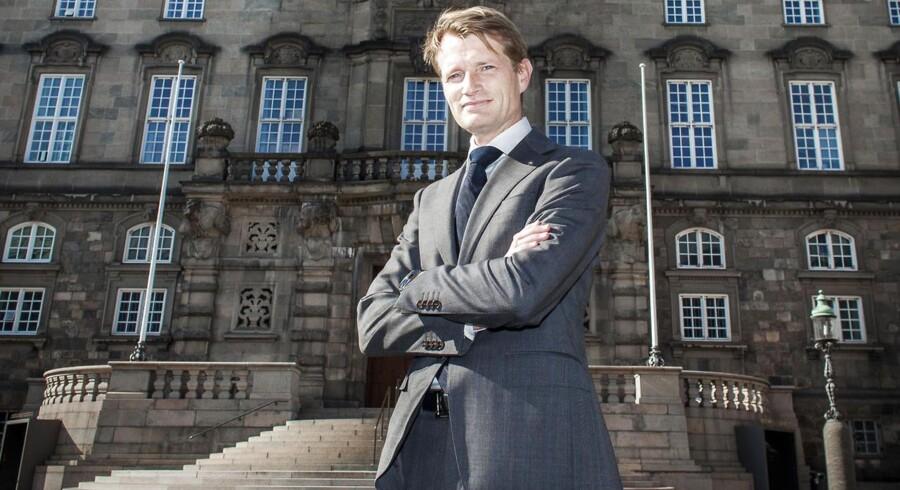 Martin Gaarn Thomsen er selv er glad for stillingen, der kan udvikle ham yderligere i ISS-koncernen